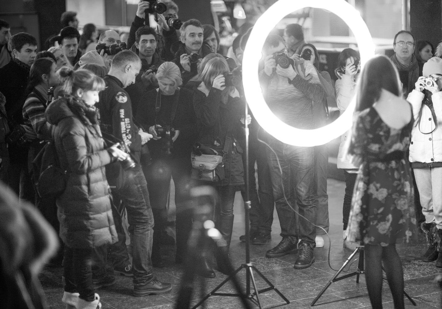 лампа кольцевая для фото